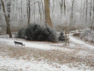 Winteridyll im Pleasureground