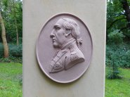 Medaillon mit Fürst-Franz-Porträt