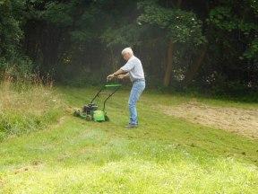 Rasenmäher-Einsatz