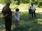 Bogenschiessen für die Kleinen